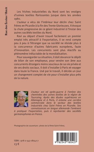 4eme La fin de l'ancienne firme Saint Frères en Picardie