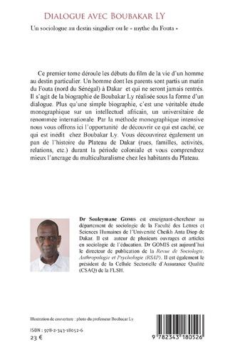 4eme Dialogue avec Boubakar Ly Tome 1