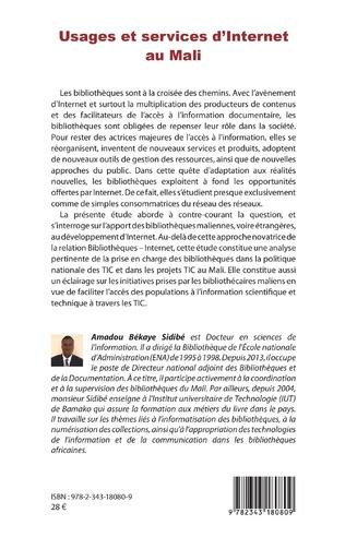 4eme Usages et services d'Internet au Mali
