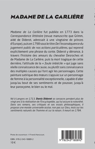 4eme Madame de La Carlière