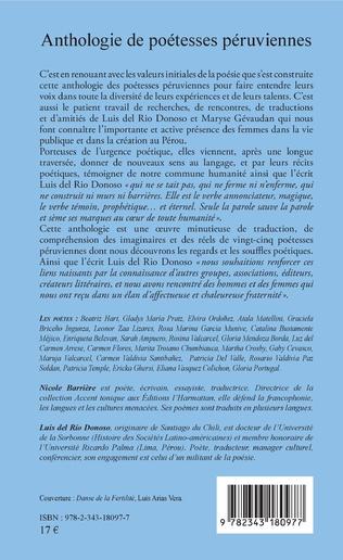 4eme Anthologie de poétesses péruviennes