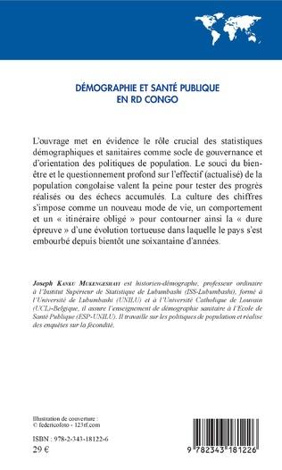 4eme Démographie et santé publique en RD Congo