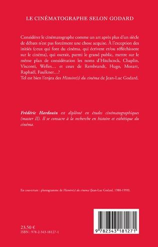4eme Le cinématographe selon Godard