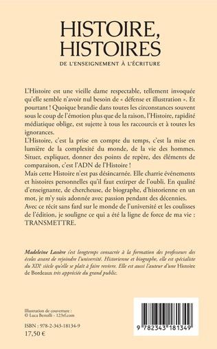 4eme Histoire, Histoires