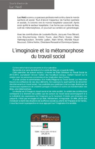 4eme L'imaginaire et la métamorphose du travail social