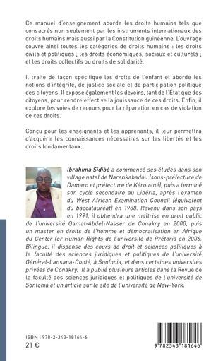 4eme Droits et devoirs des Guinéens