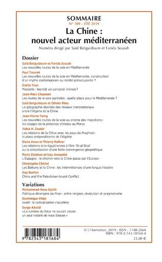 4eme La Chine : nouvel acteur méditerranéen
