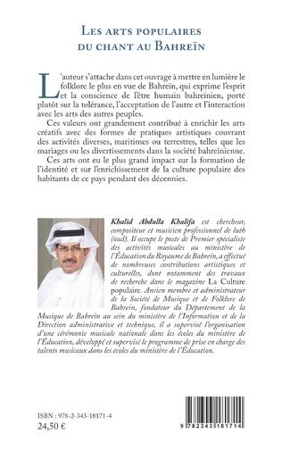 4eme Les arts populaires du chant au Bahreïn