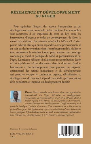 4eme Résilience et développement au Niger