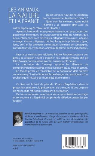 4eme Les animaux, la nature et la France