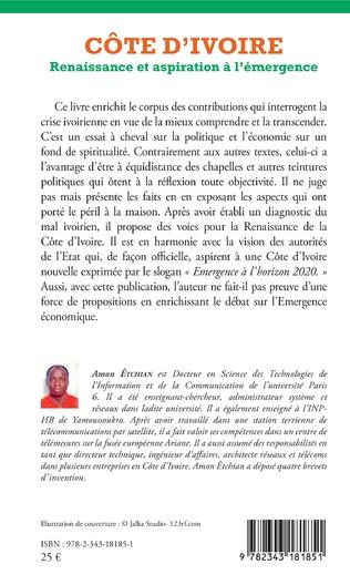 4eme Côte d'Ivoire. Renaissance et aspiration à l'émergence