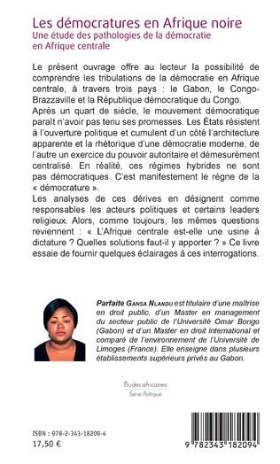 4eme Les démocratures en Afrique noire