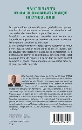 4eme Prévention et gestion des conflits communautaires en Afrique par l'approche terroir