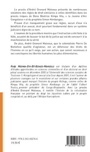 4eme Le procès d'André Grenard Matsoua