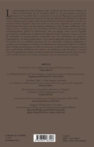 4eme L'état d'urgence en permanence (2)