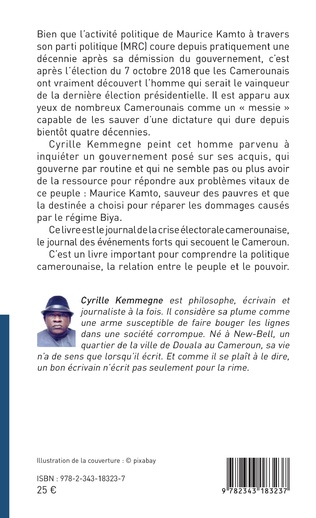 4eme Maurice Kamto un destin présidentiel