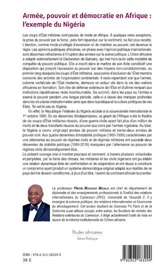 4eme Armée, pouvoir et démocratie en Afrique : l'exemple du Nigéria