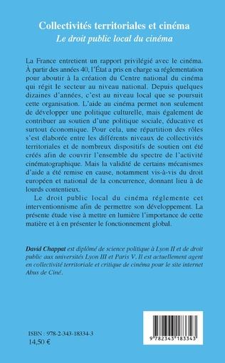 4eme Collectivités territoriales et cinéma