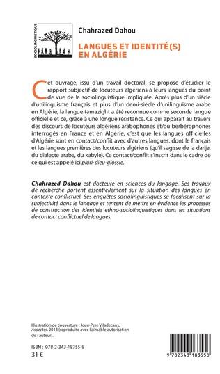4eme Langues et identité(s) en Algérie