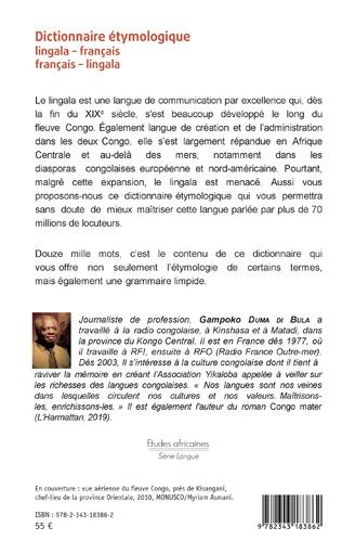 4eme Dictionnaire étymologique lingala-français français-lingala