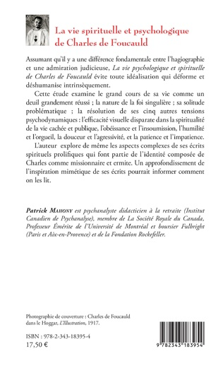4eme La vie spirituelle et psychologique de Charles de Foucauld