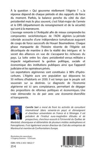 4eme L'Algérie. Histoire secrète d'un naufrage annoncé