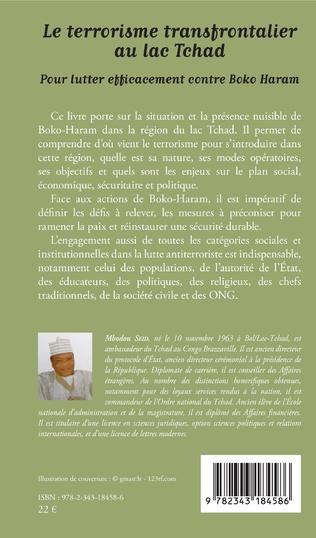 4eme Le terrorisme transfrontalier au lac Tchad