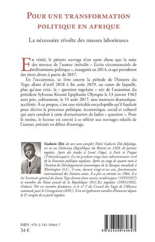 4eme Pour une transformation politique en Afrique