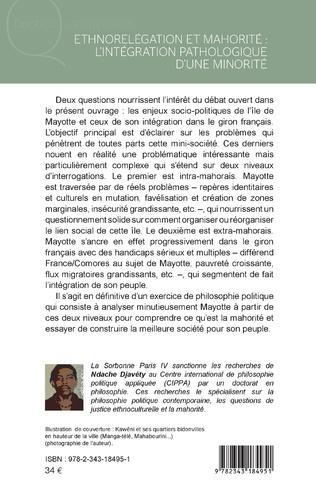 4eme Ethnorelégation et mahorité : l'intégration pathologique d'une minorité