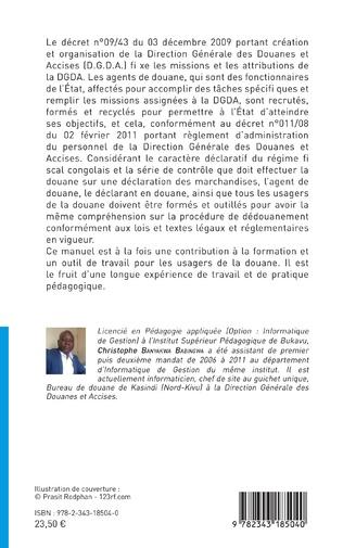 4eme Le dédouanement informatisé en République Démocratique du Congo (2ème édition)