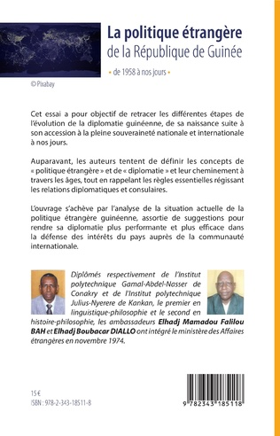4eme La politique étrangère de la République de Guinée de 1958 à nos jours