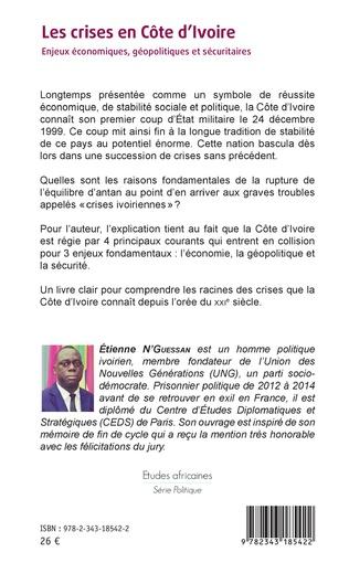 4eme Les crises en Côte d'Ivoire