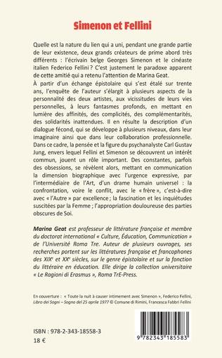 4eme Simenon et Fellini