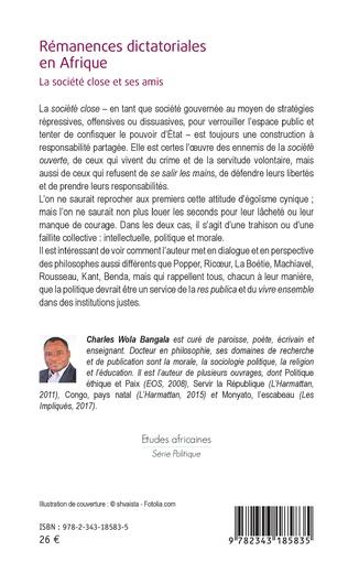 4eme Rémanences dictatoriales en Afrique
