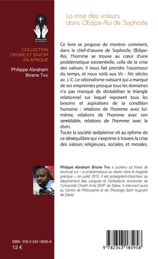 4eme La crise des valeurs dans <em>Oedipe-Roi</em> de Sophocle