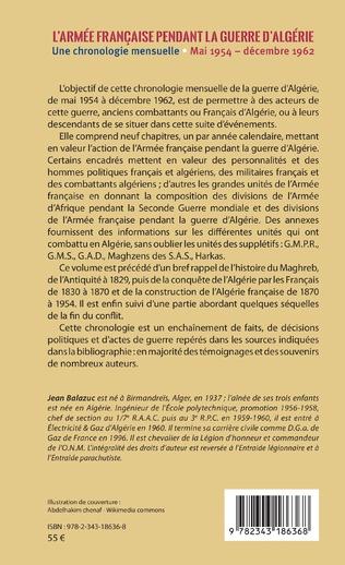 4eme L'armée française pendant la guerre d'Algérie
