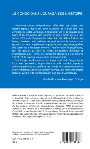 4eme Le Congo dans l'ouragan de l'histoire