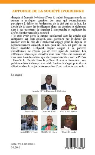 4eme Autopsie de la société ivoirienne Tome 1