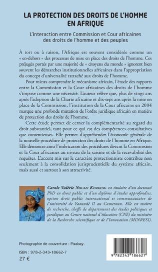 4eme La protection des droits de l'homme en Afrique