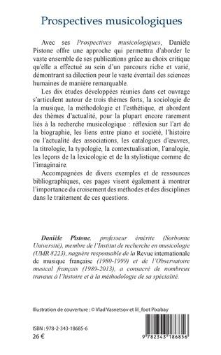 4eme Prospectives musicologiques