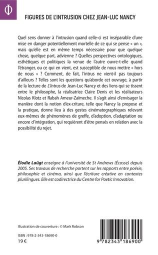 4eme Figures de l'intrusion chez Jean-Luc Nancy