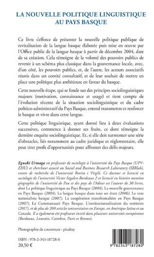4eme La nouvelle politique linguistique au Pays Basque