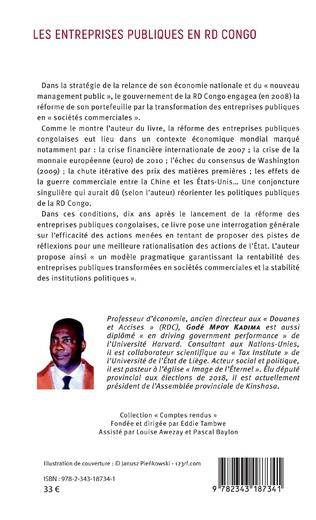 4eme Les entreprises publiques en RD Congo