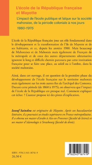 4eme L'école de la République française et Mayotte