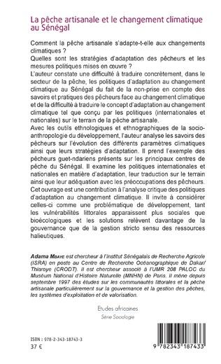 4eme La pêche artisanale et le changement climatique au Sénégal