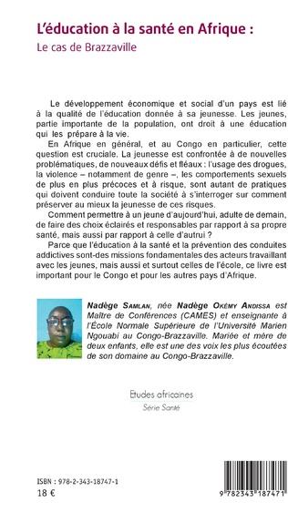 4eme L'éducation à la santé en Afrique : le cas de Brazzaville