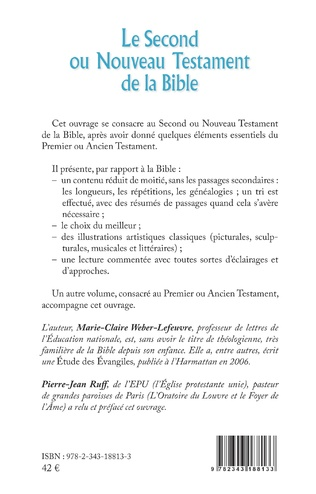 4eme Le Second ou Nouveau Testament de la Bible