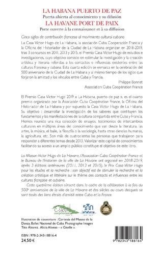 4eme La Habana puerto de paz. Puerta abierta al conocimiento y su difusión