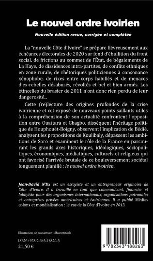 4eme Le nouvel ordre ivoirien (nouvelle édition revue, corrigée et complétée)