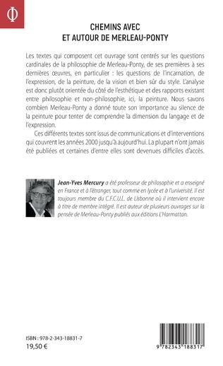 4eme Chemins avec et autour de Merleau-Ponty